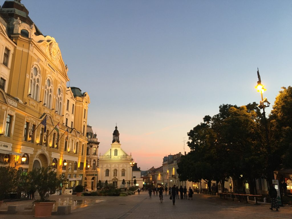 Spacer po Pécs