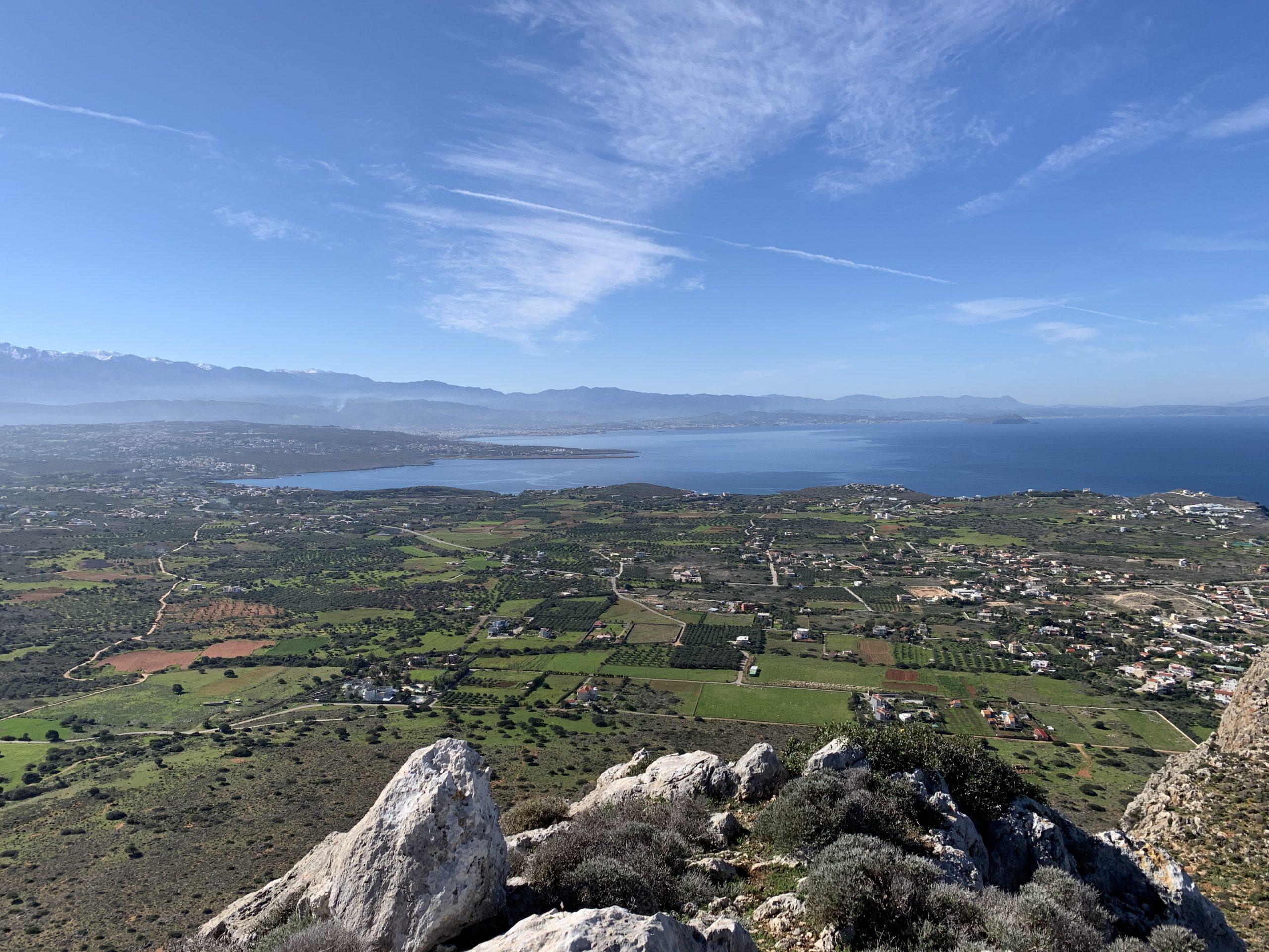 Góra Vradies przy Stavros