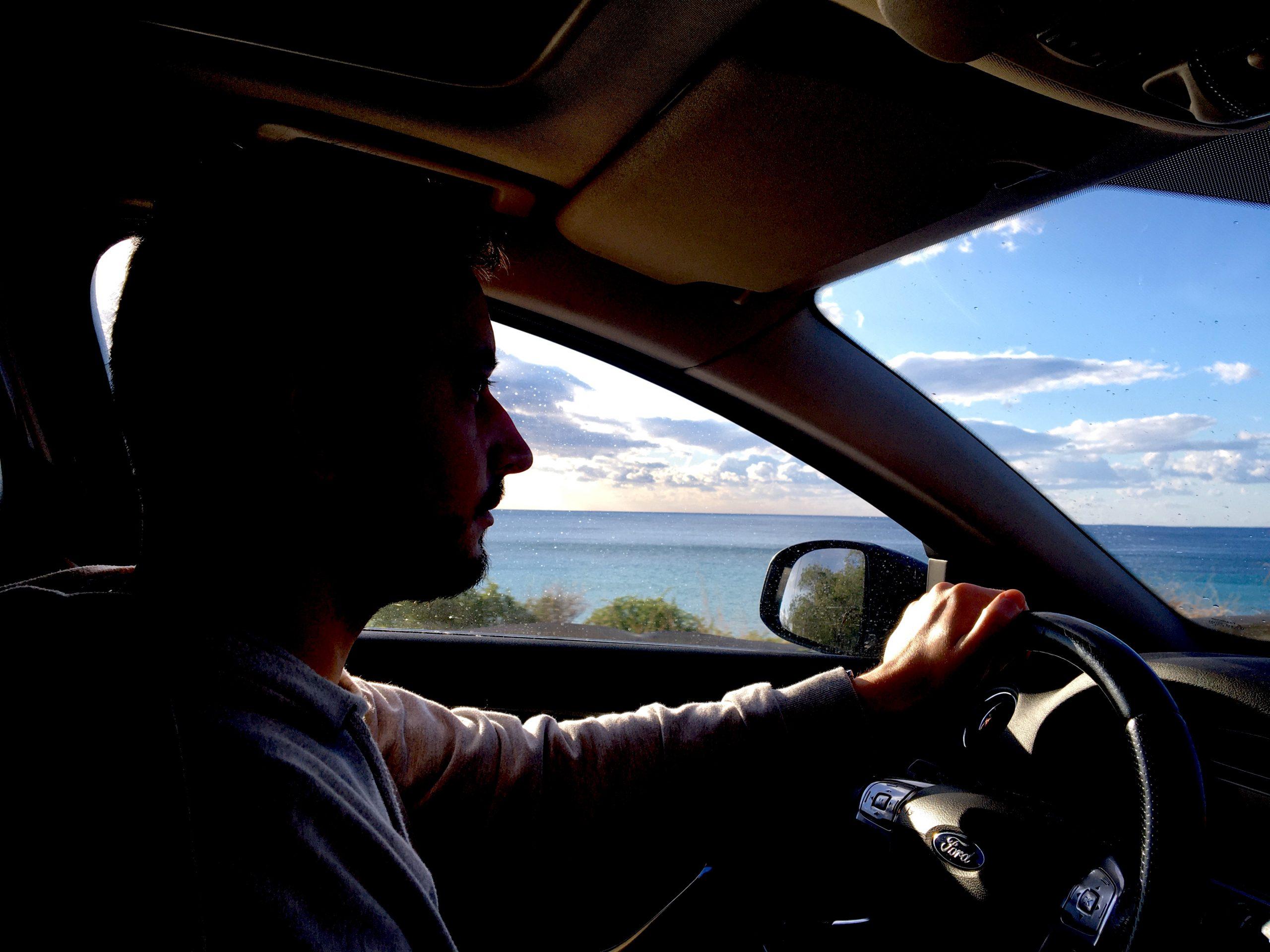 podróż samochodem na Kretę